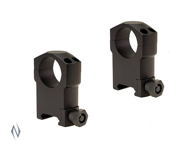 "LEUPOLD MARK 4 1"" RINGS SUPER HIGH  MATTE (ALUMINIUM) Image"