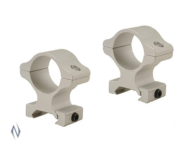 "LEUPOLD RIFLEMAN RINGS 1"" DETACHABLE HIGH SILVER Image"