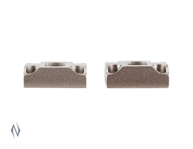 LEUPOLD DUAL DOVETAIL BASES X-BOLT SILVER Image