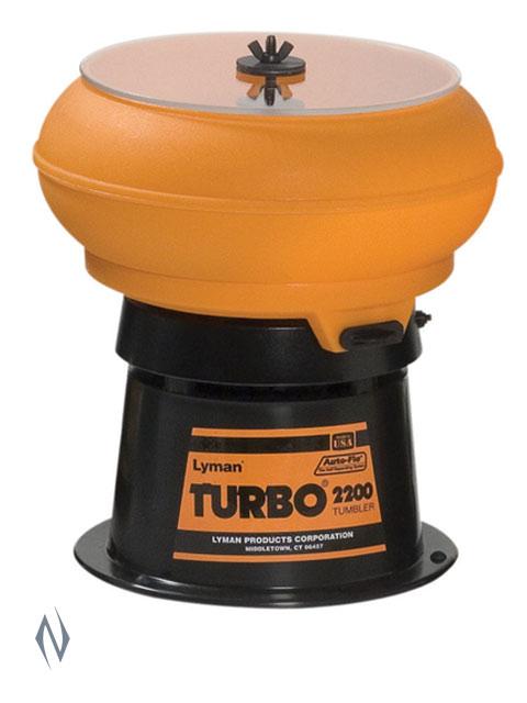 LYMAN 2200 AUTO FLOW TURBO TUMBLER Image