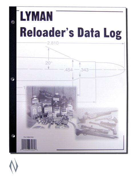 LYMAN RELOADING DATA LOG Image