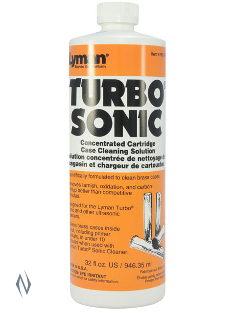 LYMAN TURBO SONIC CASE CLEANING SOLUTION 32 OZ Image