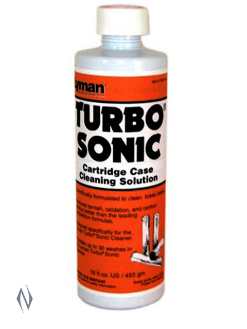 LYMAN TURBO SONIC CASE CLEANING SOLUTION 16 OZ Image