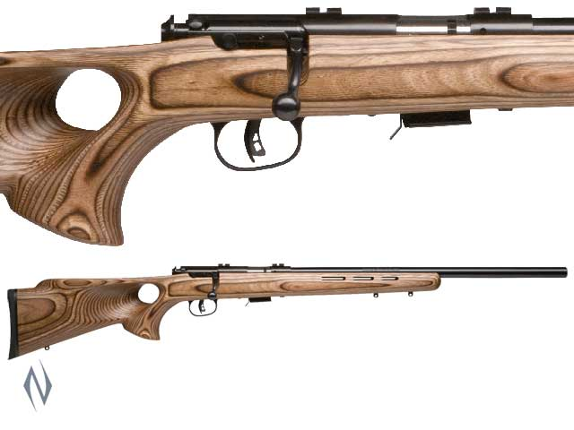 SAVAGE MKII 22LR BTV BLUED THUMBHOLE VARMINT 5 SHOT Image