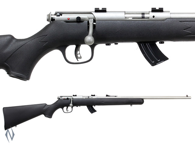 SAVAGE MKII 22LR FSS STAINLESS SYNTHETIC 10 SHOT Image