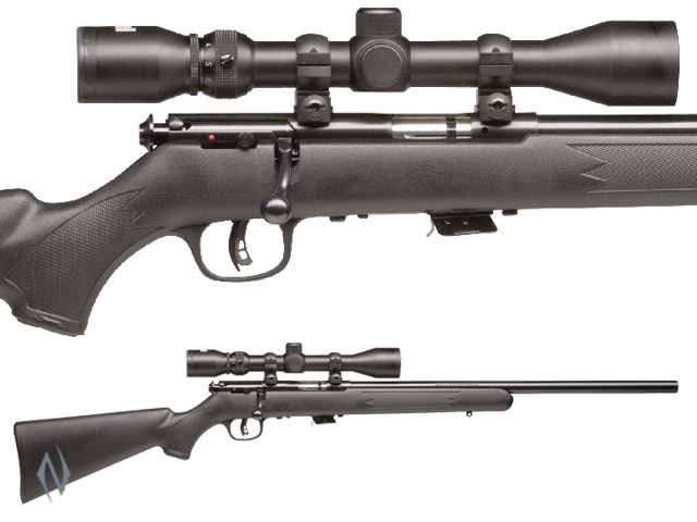 SAVAGE MKII 22LR FV BLUED SYNTHETIC VARMINT PACKAGE Image