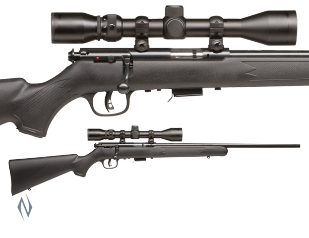 SAVAGE MKII 22LR F BLUED SYNTHETIC PACKAGE Image