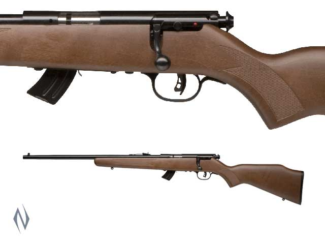 SAVAGE MKII 22LR GLY BLUED WOOD YOUTH 10 SHOT LEFT Image