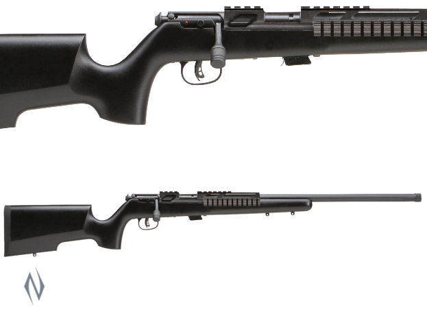 SAVAGE MKII 22LR TACTICAL+RAIL THREADED 5 SHOT Image