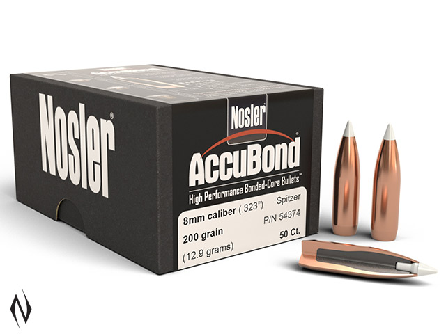 NOSLER 8MM 200GR SP ACCUBOND 50PK Image