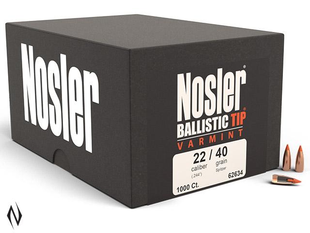 NOSLER 224 40GR BALLISTIC TIP 1000PK Image