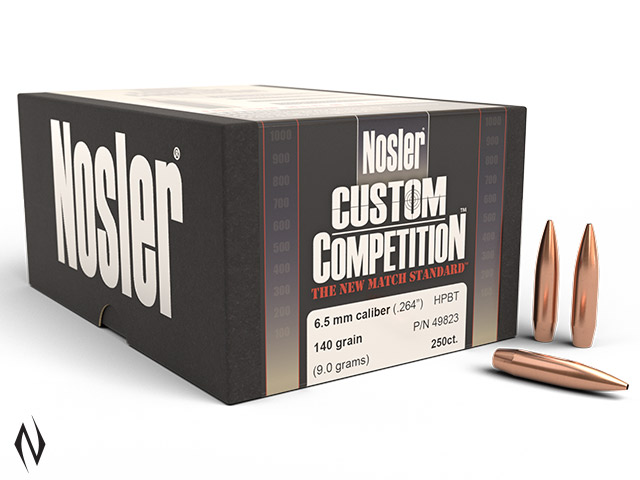 NOSLER 6.5MM 140GR HPBT CUSTOM COMP 250PK Image