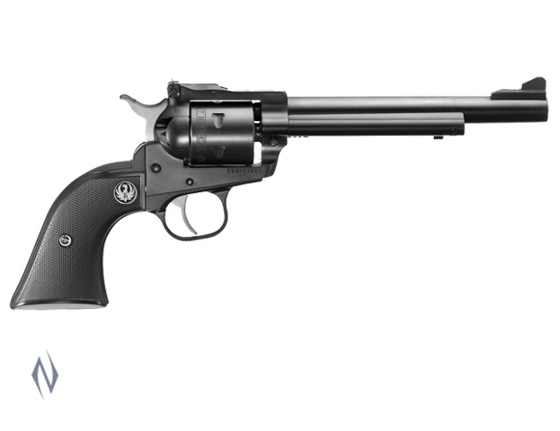 RUGER SINGLE SIX 17HMR BLUED 165MM Image