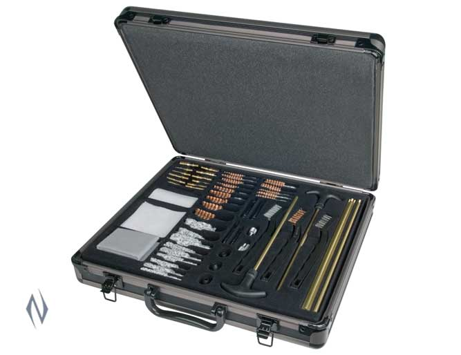 OUTERS UNIVERSAL CLEANING KIT 62 PIECE IN ALUMINIUM CASE Image